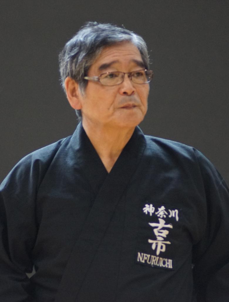 SENSEI FURUICHI NORIO 8 DAN IAIDO KYOSHI